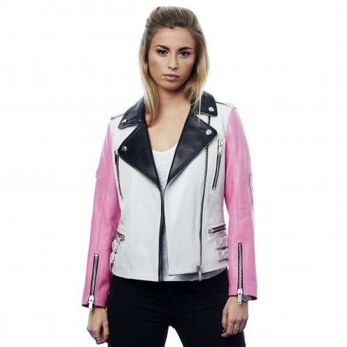 Rapsodia White/Pink/Black