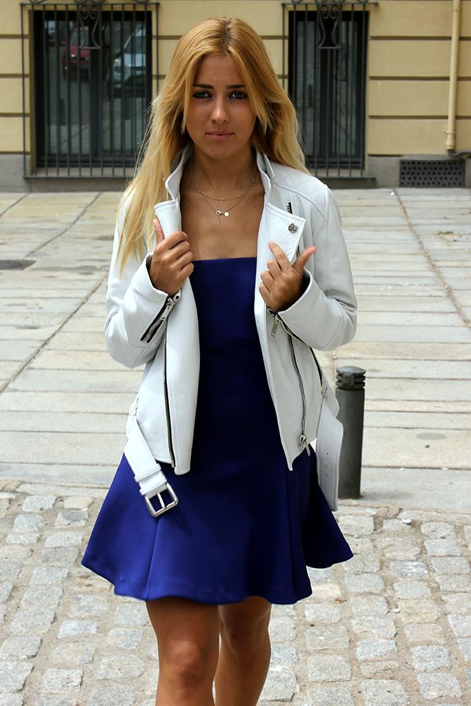 leather jacket woman