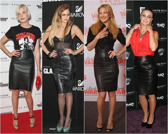 1 estilismos skirts leather