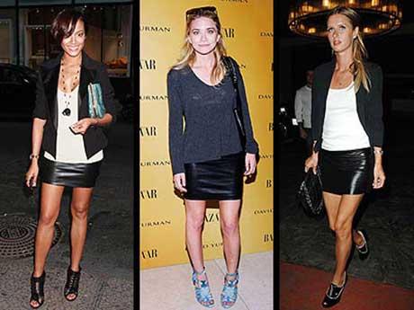 2 estilismos skirts leather